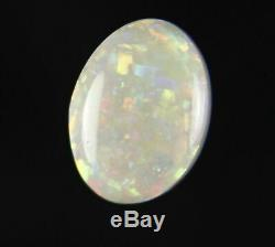 0.8ct GORGEOUS RED GREEN GENUINE LIGHTNING RIDGE SOLID CRYSTAL OPAL GEM a303