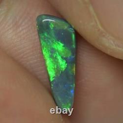 1.03 cts Australian Solid Semi Black Opal, Lightning Ridge