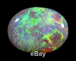 1.16 cts Beautiful & Bright Blue/Green Solid Lightning Ridge Opal (2218)