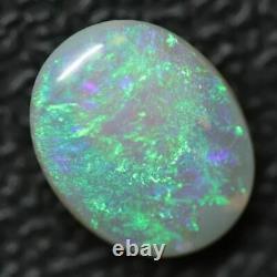 1.22 cts Australian Lightning Ridge, Semi Black Solid Opal