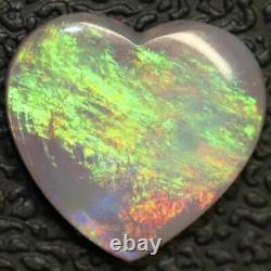 1.85 cts Australian Semi Black Opal, Solid South Australia Cabochon, Loose Stone