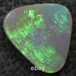 1.99 cts Australian Lightning Ridge, Semi Black Solid Opal, Cabochon Loose Stone