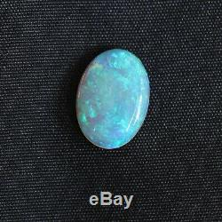 15x10mm 4.16ct Australian Light Crystal Opal Natural Solid Loose Stone Cabochon