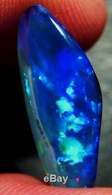 2.1ct Australian Skinny Shell Crystal Opal Solid 20x8mm (AOW 1811)