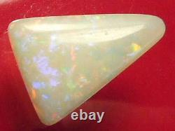 3.8carat Sparking Good Quality Gorgeous Beautiful Solid Coober Pedy White Opal