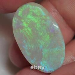 7.7 cts Australian Opal, Lightning Ridge, Solid Rough Stone, Loose Rub