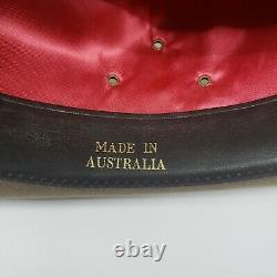 Akubra Coober Pedy Felt Hat Australian Opal US size 7 3/8. Metric 59 Imperial