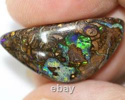 Australian Boulder Opals Solid Cut Loose Stone 16.65 cts vid