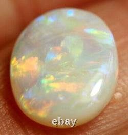 Australian Coober Pedy Solid Opal Cabochon 10.7x8.5x2.5 mm 1.67 ct