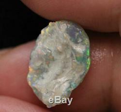 Australian Opal Lightning Ridge Solid Rough Loose Rubs 3.72 cts