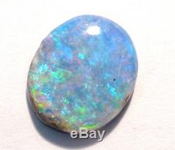 Australian Queensland Boulder Crystal Opal Solid Cut Stone (2930)