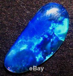 Australian Skinny Shell Crystal Opal Solid Cut Stone