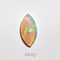 Australian opal 0.96ct 12x6mm natural solid light opal marquis shape Coober Pedy