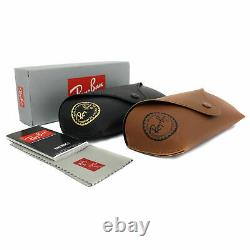 Authentic Ray Ban RB2132 New Wayfarer 6307A6 Matte Beign on Opal red Sunglasses