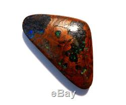 Beautiful Australian Queensland Boulder Opal Solid Cut Stone 17.5ct (2385)