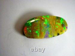 Big & Beautiful Natural Solid 28 Carat Queensland Boulder Opal