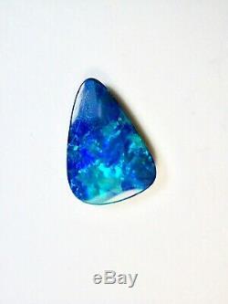 Big & Beautiful Natural Solid 7.33 Carat Blue Queensland Boulder Opal