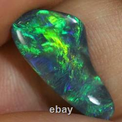 Black Opal Lightning Ridge Carving Solid 2.95 cts