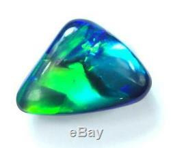 Black Opals LIGHTNING RIDGE Australian SOLID cut stone 1.25 cts +Vid