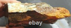 Boulder Opal Rough Specimen Blue White Opal Natural Eromanga Lapidary 1.013 KG