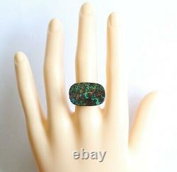 Boulder opal 13.98ct 24.9 x 16mm Australian opal natural solid loose unset stone