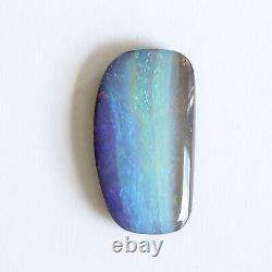 Boulder opal 14.42ct 24 x 13mm Australian opal natural solid loose unset stone