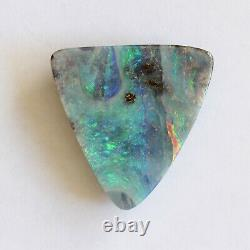 Boulder opal 19.80ct 21.8 x 21mm Australian opal natural solid loose unset stone