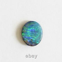 Boulder opal 2.03ct 10 x 8mm Australian opal natural solid loose unset stone