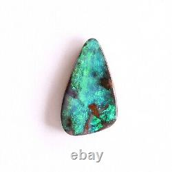 Boulder opal 2.41ct 13.6 x 7.9mm Australian opal natural solid loose unset stone
