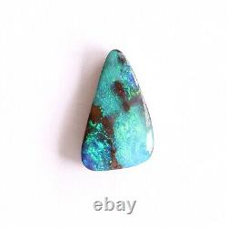 Boulder opal 2.48ct 12 x 7mm Australian opal natural solid loose unset stone
