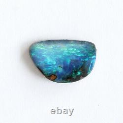 Boulder opal 2.80ct 8 x 13mm Australian opal natural solid loose stone Winton