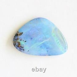 Boulder opal 21.54ct 31.7 x 21.9mm Australian opal natural solid loose stone