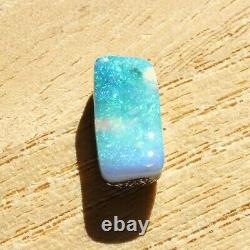 Boulder opal 3.12ct 13.7 x 6.6mm Australian opal natural solid loose unset stone