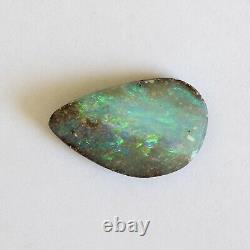 Boulder opal 5.02ct 16.7 x 10mm Australian opal natural solid loose unset stone