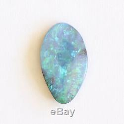 Boulder opal 5.11ct 18 x 10.7mm Australian opal natural solid loose unset stone