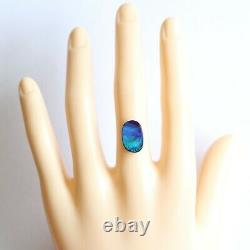 Boulder opal 5.31ct 14.7 x 9.6mm Australian opal natural solid loose unset stone