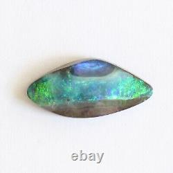 Boulder opal 5.41ct 20 x 9.6mm Australian opal natural solid loose unset stone