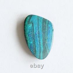 Boulder opal 7.32ct 18 x 11.7mm Australian opal natural solid loose unset stone