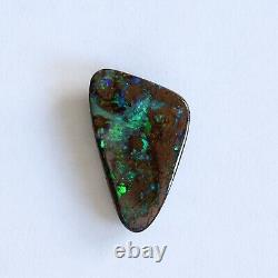 Boulder opal 7.34ct 20 x 11.8mm Australian opal natural solid loose unset stone
