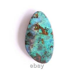 Boulder opal 7.52ct 20 x 11mm Australian opal natural solid loose unset stone