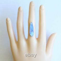Boulder opal 8.43ct 27 x 8.6mm Australian opal natural solid loose unset stone