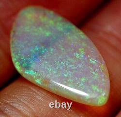 Bright Flash Australian Andamooka Crystal Solid Opal 4.98 ct