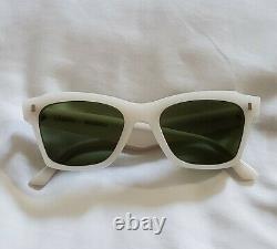 Celine CL40058I 40058I Sunglasses Opal Milky White 25N 100% Authentic 52mm dita