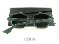 Dior Sunglasses Abstract Opal Green Blue Mirror CJHA4 New Authentic
