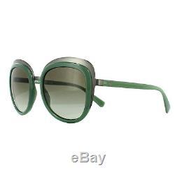 Emporio Armani Sunglasses 2058 30108E Matt Gunmetal Opal Green Green Gradient