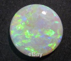 Genuine Australian Lightning Ridge Opal Solid Cut Stone 12mm round (2036)