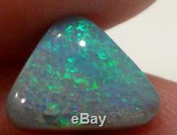 LIGHTNING RIDGE AUSTRALIAN NATURAL OPAL SOLID Gem Stone 3.25 cts + Vid