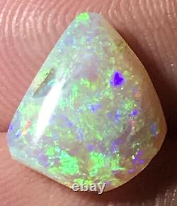 Make an Offer! Very Nice Green 2.7ct Solid Lightning Ridge Dark Crystal Opal
