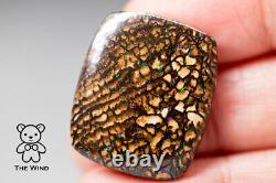 Natural Australian Boulder Opal Gorgeous Color & Pattern 26.03 Carat Unmounted