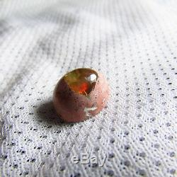 Opal 8.70ct Red Green BLUE Color Play FIRE AAA Gem Cab Solid Natural Mexican Gem